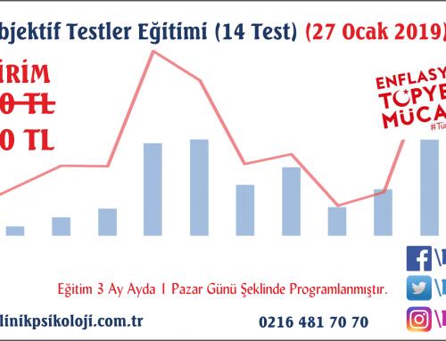Objektif Testler Eğitimi (27 Ocak 2019) İndirim